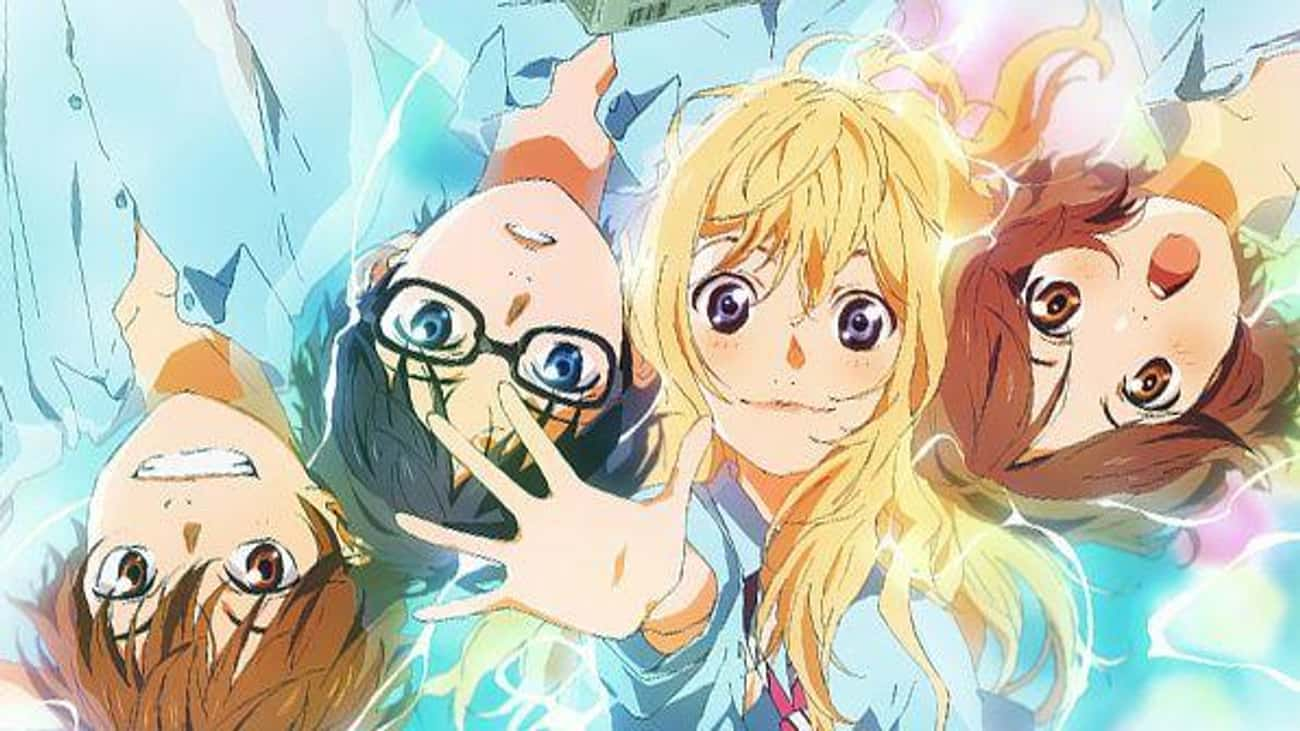 Your Lie in April - Overcoming is listed (or ranked) 1 on the list 17 Anime Series That Will Make You Cry Like a Baby