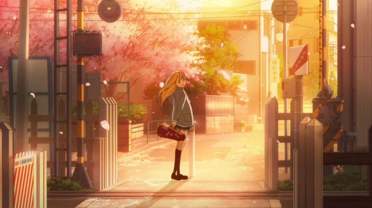 Your Lie In April is listed (or ranked) 3 on the list Anime With The Most Gorgeous Train Station Scenes