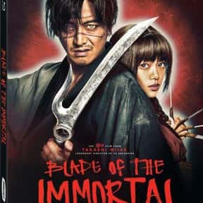 Blade of the Immortal is listed (or ranked) 1 on the list The Best Martial Arts Movies Streaming on Hulu