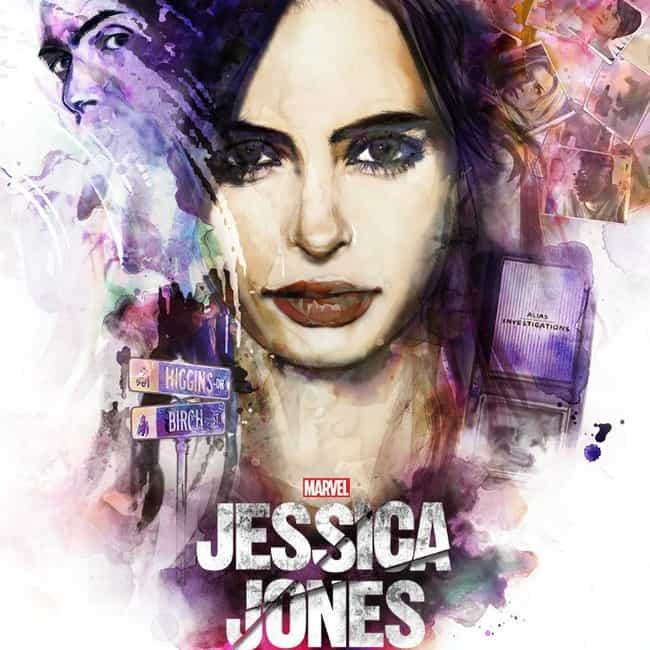 Jessica Jones is listed (or ranked) 3 on the list What to Watch If You Love 'Daredevil'