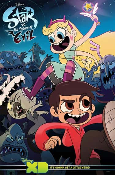 Star Vs. The Forces Of Evil is listed (or ranked) 2 on the list What To Watch If You Love 'Gravity Falls'