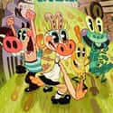 Pig Goat Banana Cricket ... is listed (or ranked) 19 on the list The Most Annoying Kids Shows of All Time