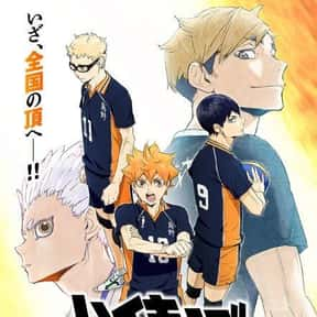 Haikyuu!! is listed (or ranked) 10 on the list The Most Popular Anime Right Now