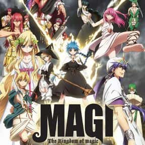 Magi: The Kingdom of Magic is listed (or ranked) 11 on the list The Best Fantasy Anime on Netflix
