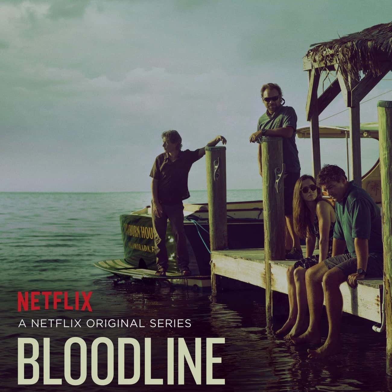Bloodline is listed (or ranked) 4 on the list What to Watch If You Love Narcos