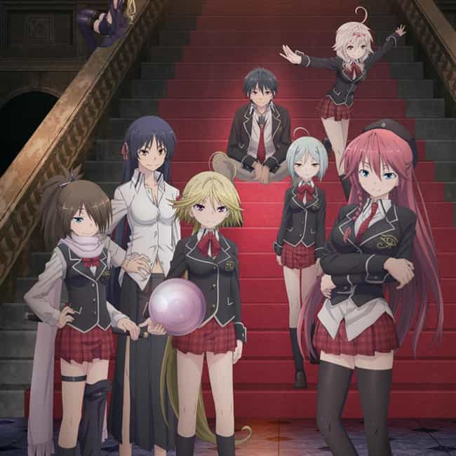 Trinity Seven: 7-nin no ... is listed (or ranked) 2 on the list 15+ Good Anime Like High School DxD