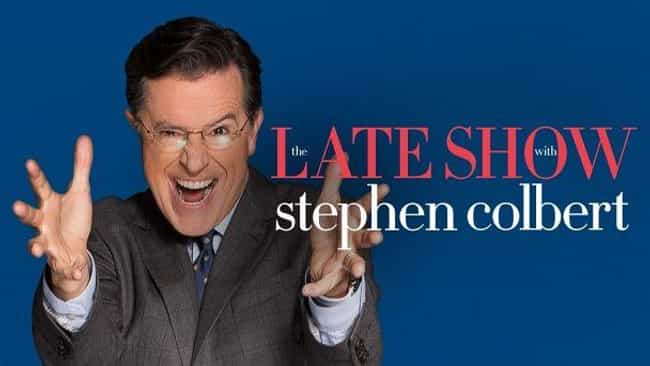 The Late Show with Stephen Col... is listed (or ranked) 1 on the list The Best Late Night Talk Shows From NYC