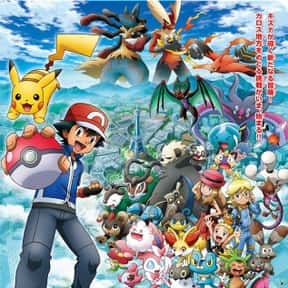 Pokémon is listed (or ranked) 3 on the list Which Anime Universe Would You Want To Live In?