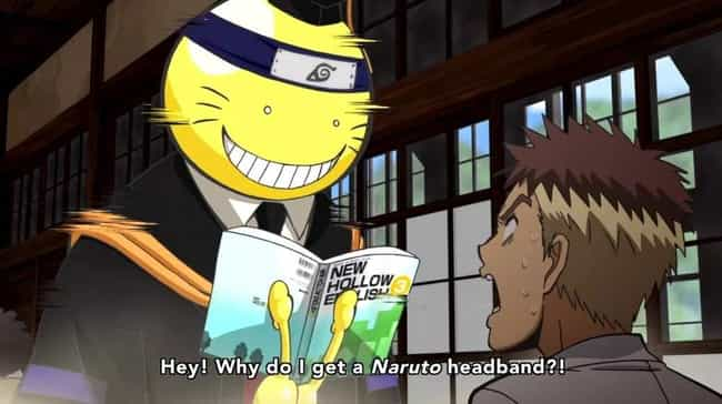 Assassination Classroom is listed (or ranked) 2 on the list 15 Random Anime You Should 100% Watch If You Haven't Seen Them
