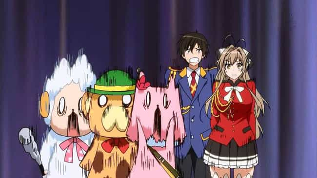 Amagi Brilliant Park is listed (or ranked) 1 on the list 15 Anime With Stupid Plots That We Love Anyways