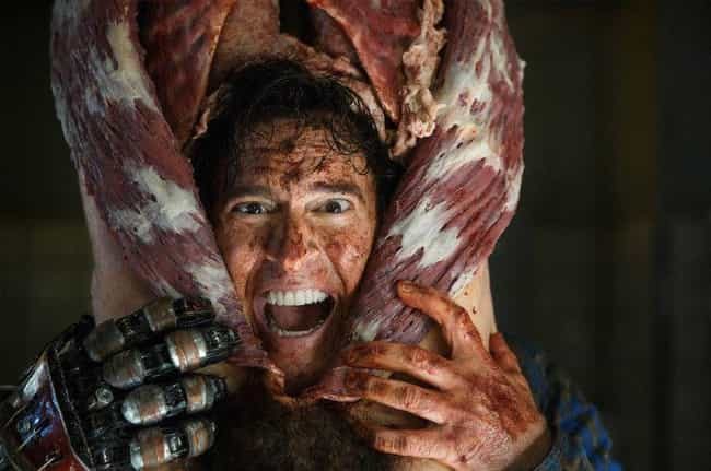 Ash vs Evil Dead is listed (or ranked) 4 on the list 17 Current Shows The Walking Dead Could Learn Lessons From