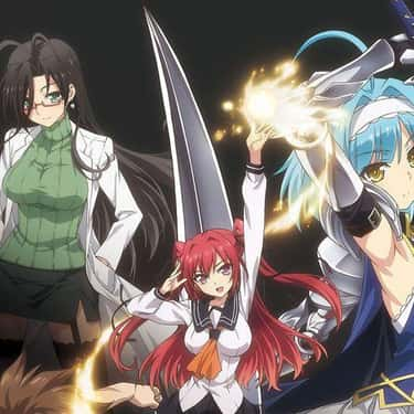 Shinmai Maou No Testament is listed (or ranked) 2 on the list The Best Fan Service Anime of All-Time
