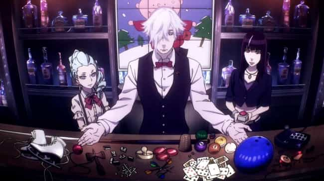 Death Parade is listed (or ranked) 1 on the list 15 Anime With Unusual Takes On The Afterlife