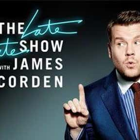 The Late Late Show With James  is listed (or ranked) 3 on the list The Greatest Talk Shows of All Time