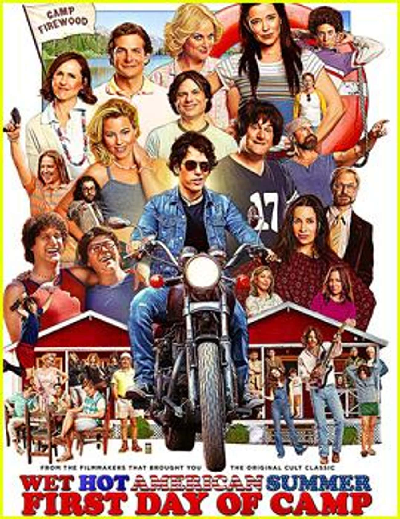 Wet Hot American Summer: First is listed (or ranked) 3 on the list The Greatest TV Shows About Camp