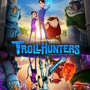 Trollhunters: Tales of Arcadia is listed (or ranked) 2 on the list The Best Animated Shows On Netflix