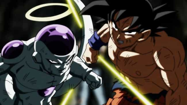 Dragon Ball Super is listed (or ranked) 4 on the list The 14 Best 'Battle Royale' Moments in Anime History