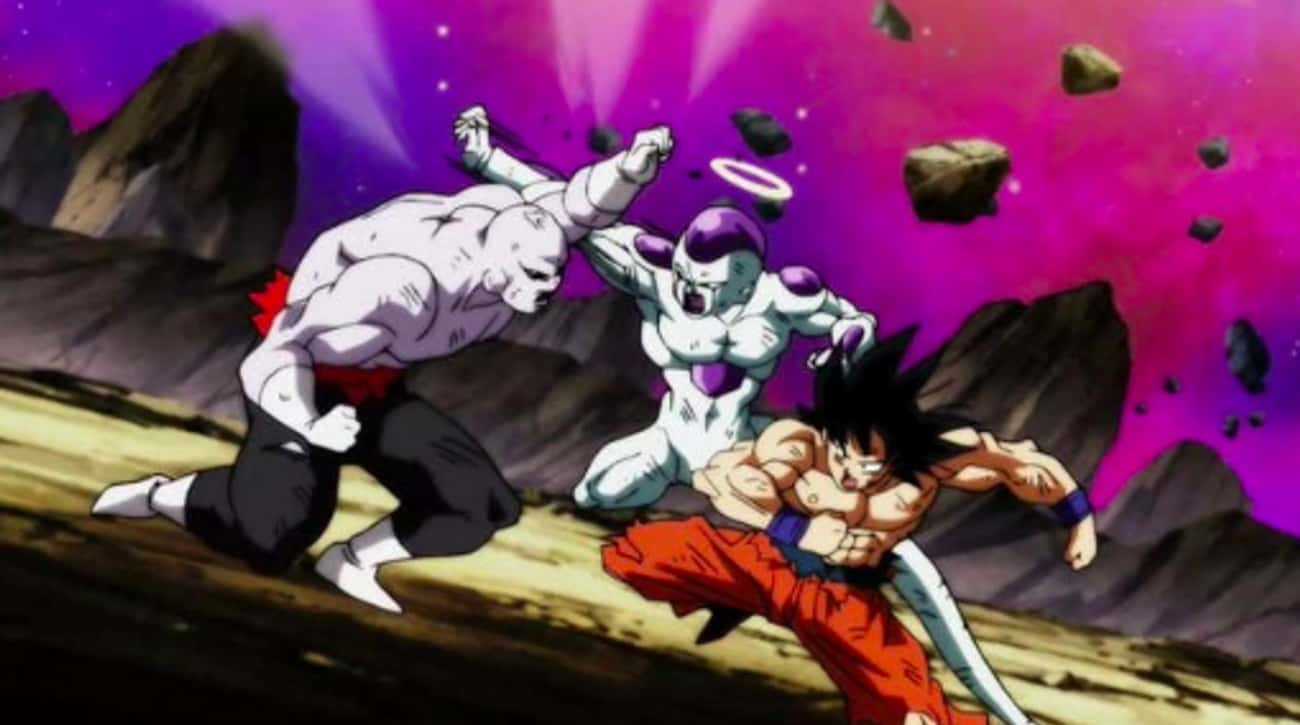 Frieza & Goku Team Up In 'Drag is listed (or ranked) 3 on the list The 10 Craziest Anime Moments of 2018