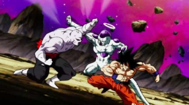 Dragon Ball Super is listed (or ranked) 3 on the list The 10 Craziest Anime Moments of 2018