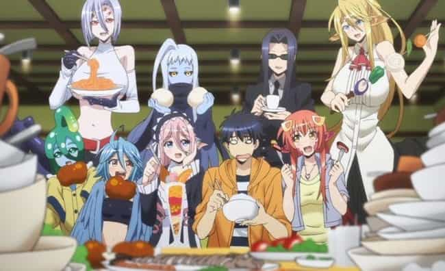 Monster Musume: Everyday Life ... is listed (or ranked) 2 on the list The 15 Best Adult Anime on Hulu