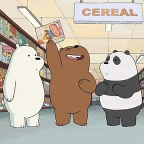 We Bare Bears is listed (or ranked) 6 on the list The Best Current Animated Series