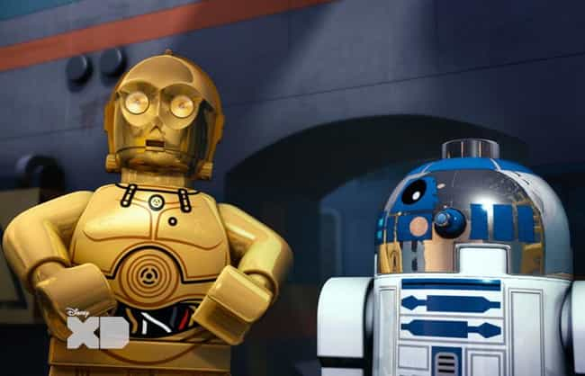 Lego Star Wars: Droid Tales is listed (or ranked) 4 on the list The Best LEGO TV Shows Ever Made