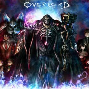 Overlord is listed (or ranked) 3 on the list The Best Adventure Anime of All Time