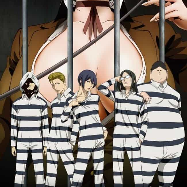 Prison School is listed (or ranked) 3 on the list Super Raunchy Anime Series That Really Go There