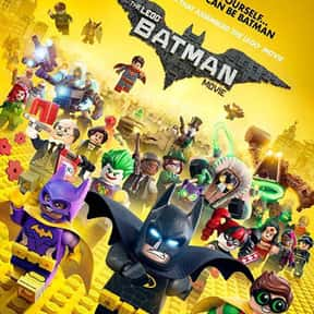 The Lego Batman Movie is listed (or ranked) 8 on the list The Best New Kids Movies of the Last Few Years