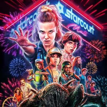 Stranger Things is listed (or ranked) 2 on the list What To Watch If You Love 'Sense8'