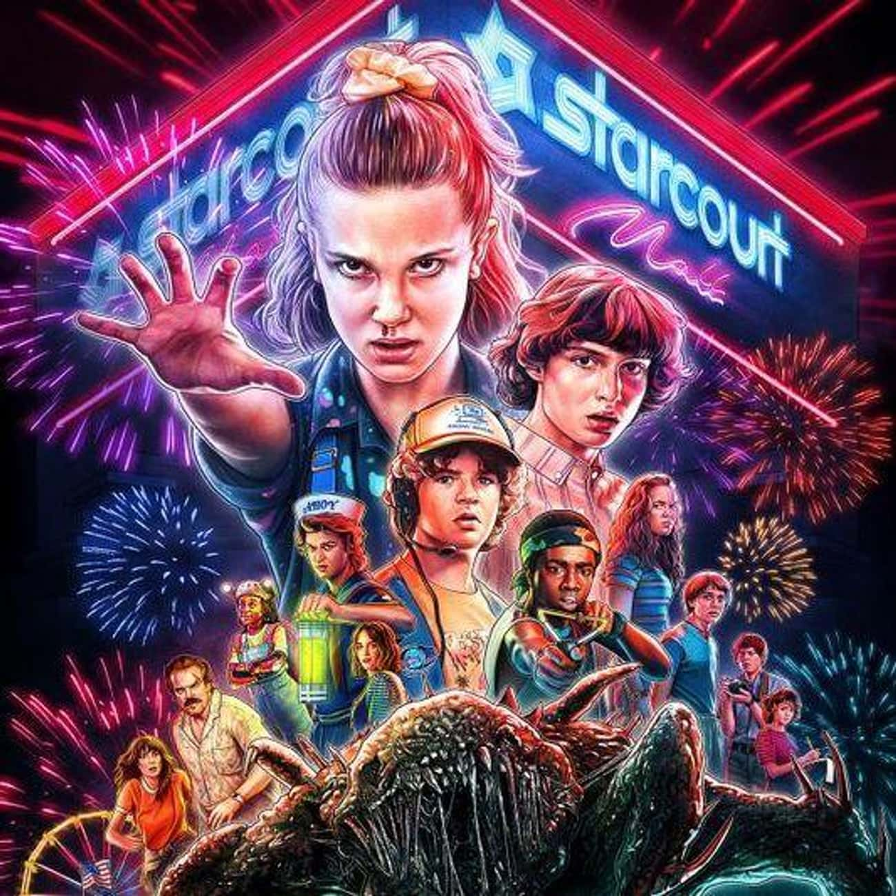 Stranger Things is listed (or ranked) 4 on the list What To Watch If You Love 'Lovecraft Country'