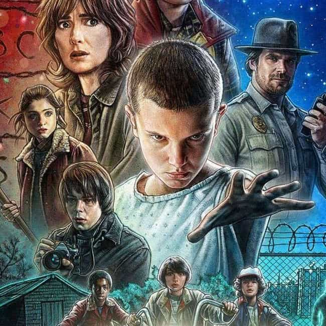 Stranger Things is listed (or ranked) 6 on the list What to Watch If You Love 'American Gods'