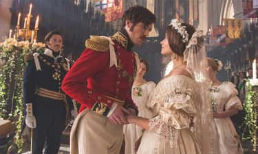 Queen Victoria's Dress In 'Victoria'