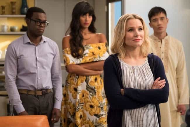 The Good Place is listed (or ranked) 5 on the list TV Characters Who Would Never Be Friends In Real Life