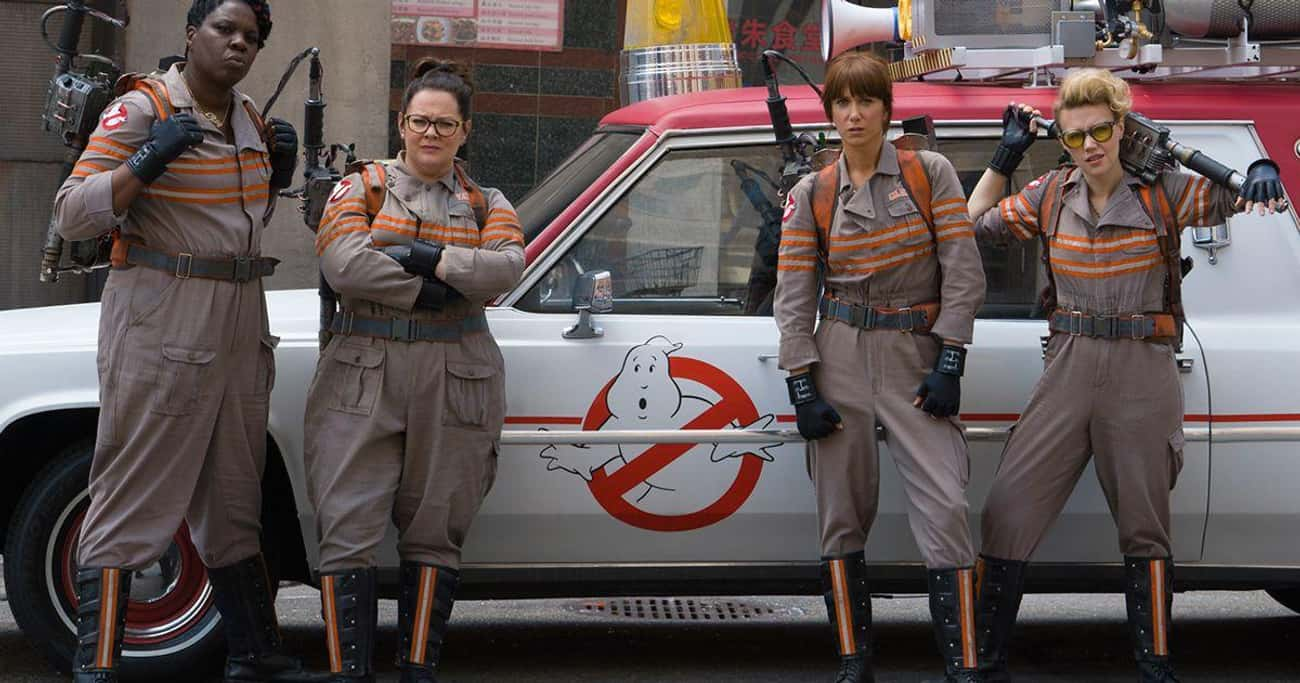 Ghostbusters is listed (or ranked) 3 on the list The Best Female Reboots Of Men-Led Movies