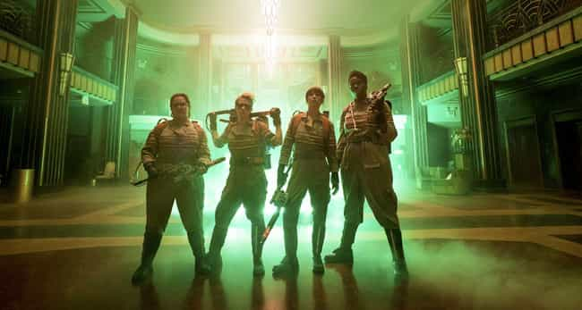 Ghostbusters is listed (or ranked) 4 on the list The Worst Movie Reboots Of The Decade