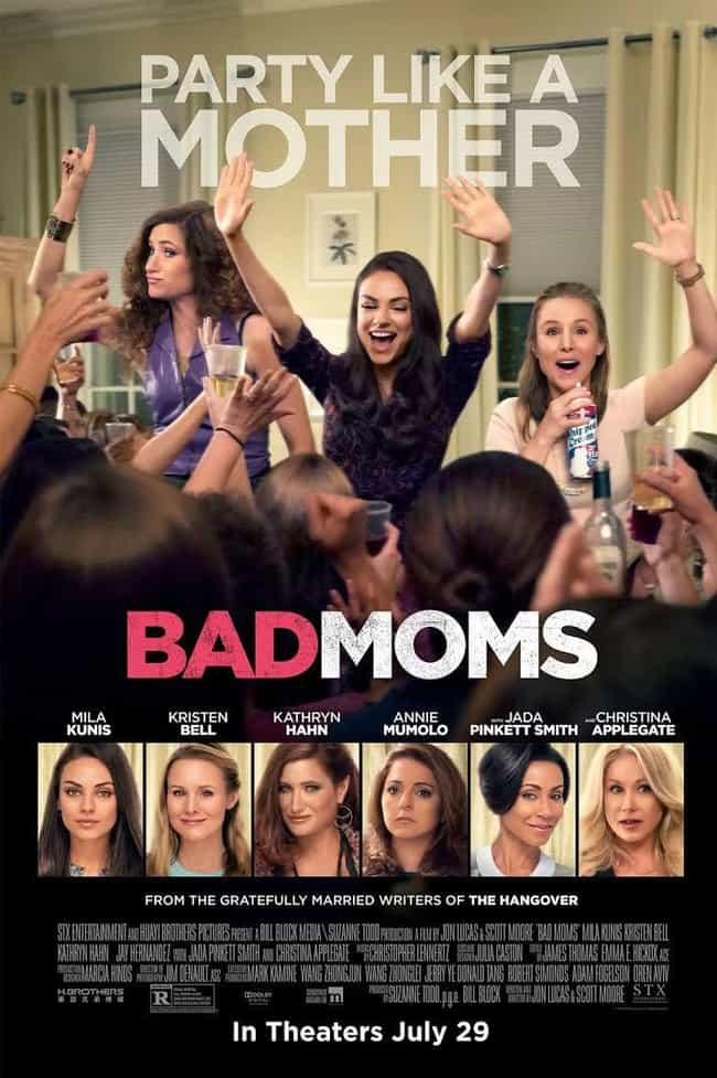 Bad Moms is listed (or ranked) 3 on the list What to Watch If You Love 'Bridesmaids'