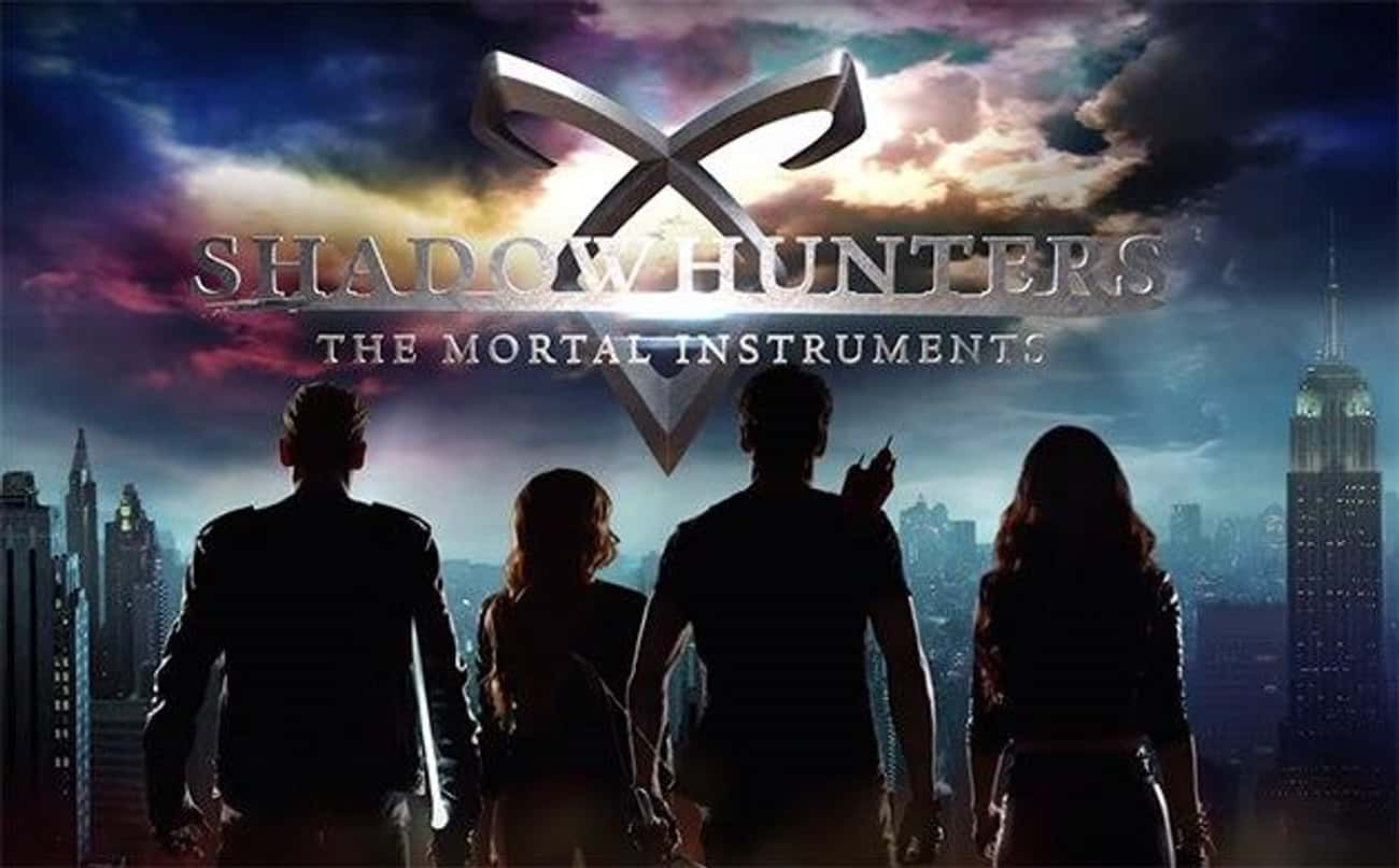 Shadowhunters is listed (or ranked) 3 on the list The Best Supernatural Teen Series