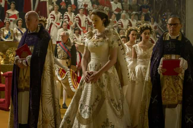 The Crown is listed (or ranked) 4 on the list Current TV Shows with the Best Costumes