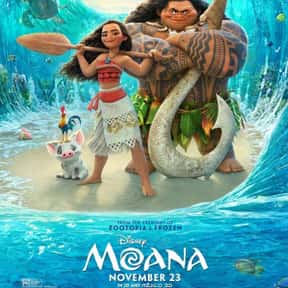 Moana is listed (or ranked) 1 on the list The Best Animated Films Ever
