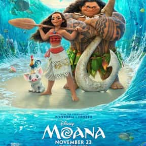 Moana is listed (or ranked) 3 on the list The Best Movies For Kids