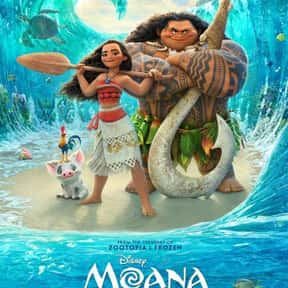 Moana is listed (or ranked) 1 on the list Great Movies About Very Smart Young Girls