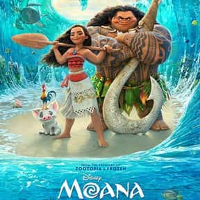 Moana is listed (or ranked) 3 on the list Good Movies for 4-Year-Olds