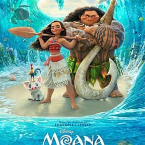 Moana is listed (or ranked) 5 on the list The Best Family Movies Rated PG