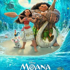 Moana is listed (or ranked) 4 on the list The 25+ Best Dwayne Johnson Movies, Ranked