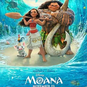 Moana is listed (or ranked) 5 on the list The Best Disney Animated Movies of All Time