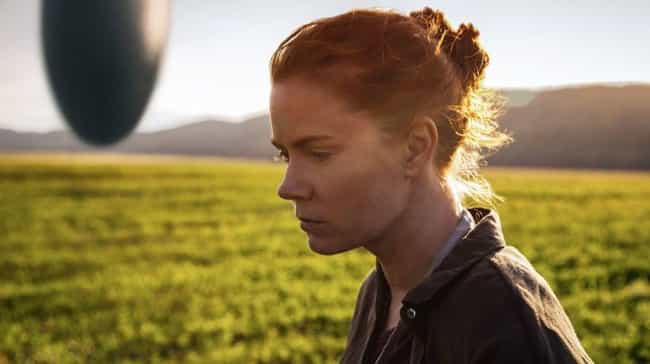 Arrival is listed (or ranked) 2 on the list The Simple Explanations Behind The Most Ambiguous Movie Endings Of All Time