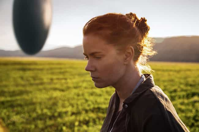 Arrival is listed (or ranked) 4 on the list 18 Awesome Sci-Fi Movies That Got Away Without Explaining Major Things