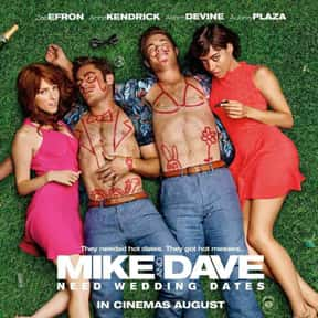 Mike and Dave Need Wedding Dat is listed (or ranked) 21 on the list The Best New Comedy Movies of the Last Few Years