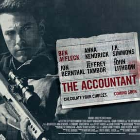 The Accountant is listed (or ranked) 11 on the list The Best New Thriller Movies of the Last Few Years